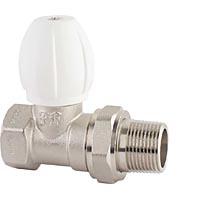 Вентиль радиаторный регулировочный прямой с конусным затвором