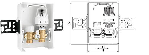 Регулировочный модуль для комбинированных систем отопления